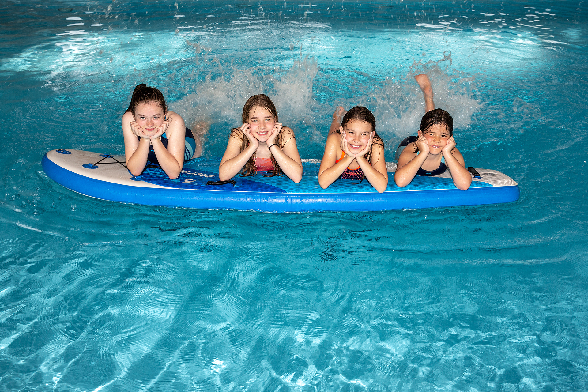 Badi- und Unterwassershooting mit Andrea's Schwimmschule