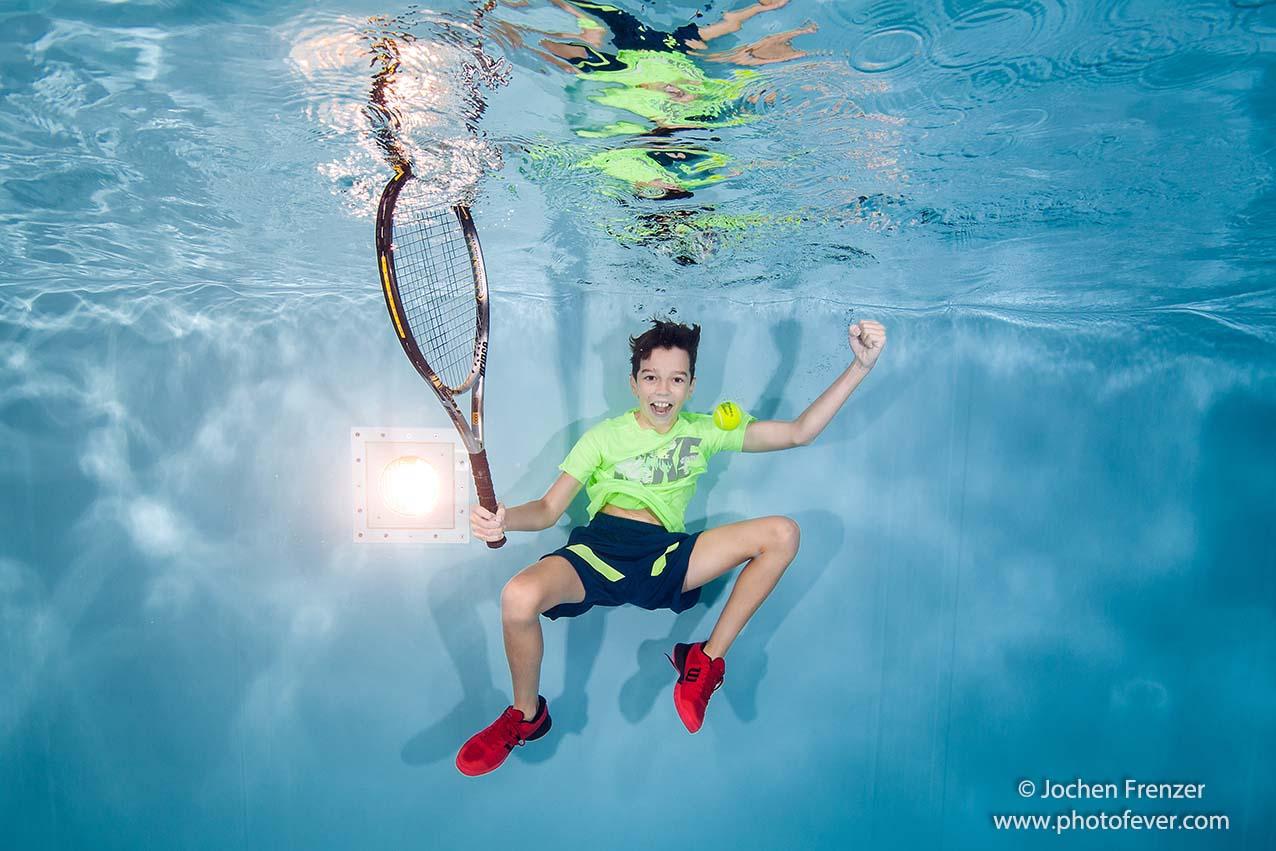 Kann Roger Federer das auch?