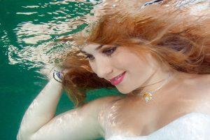 Unterwasser Fotoshooting Neuenburgersee