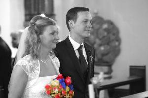 Hochzeitsfeier mit Esprit