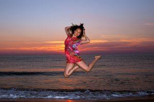 Sunrise Shooting mit Ramona auf Korsika