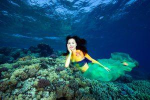 Unterwasser Bodypainting – Soma Bay