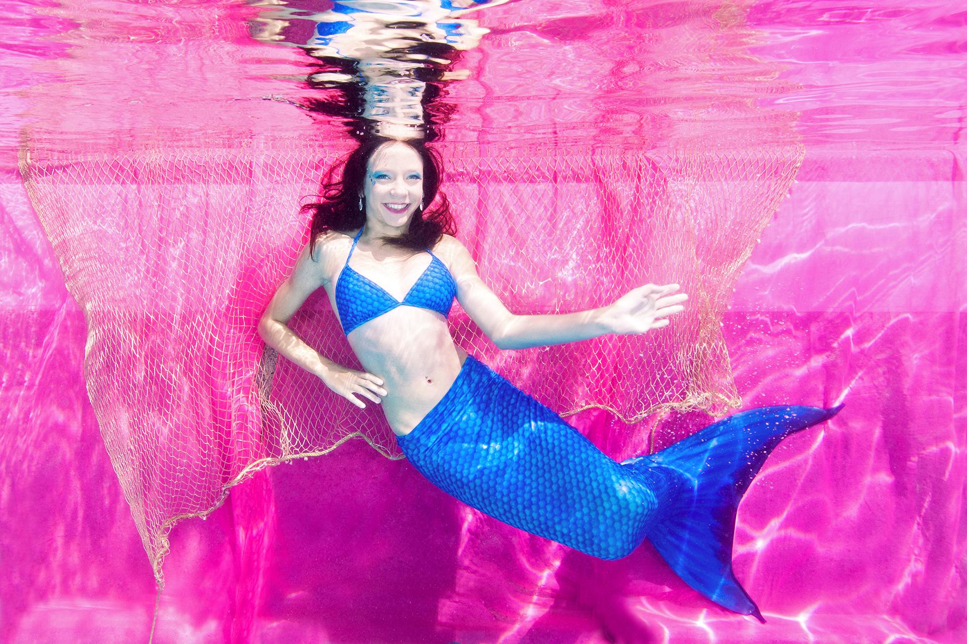 Meerthun – Meerjungfrauen Unterwasser Shooting