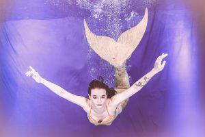 Vier wundervolle Meerjungfrauen
