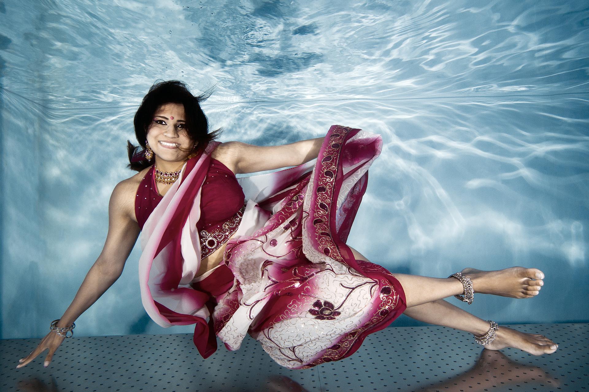 Sri Lanka Charme beim Unterwasser Fotoshooting